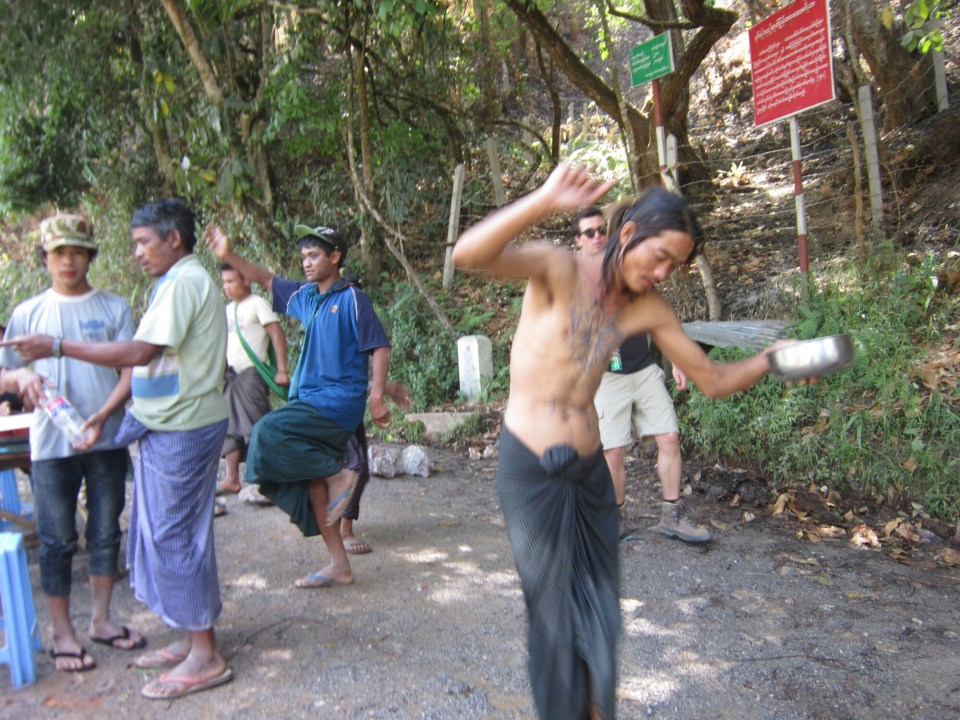 Celebrating Thingyan near Kalaw - the people of Myanmar - soemthign I experienced with solo travel