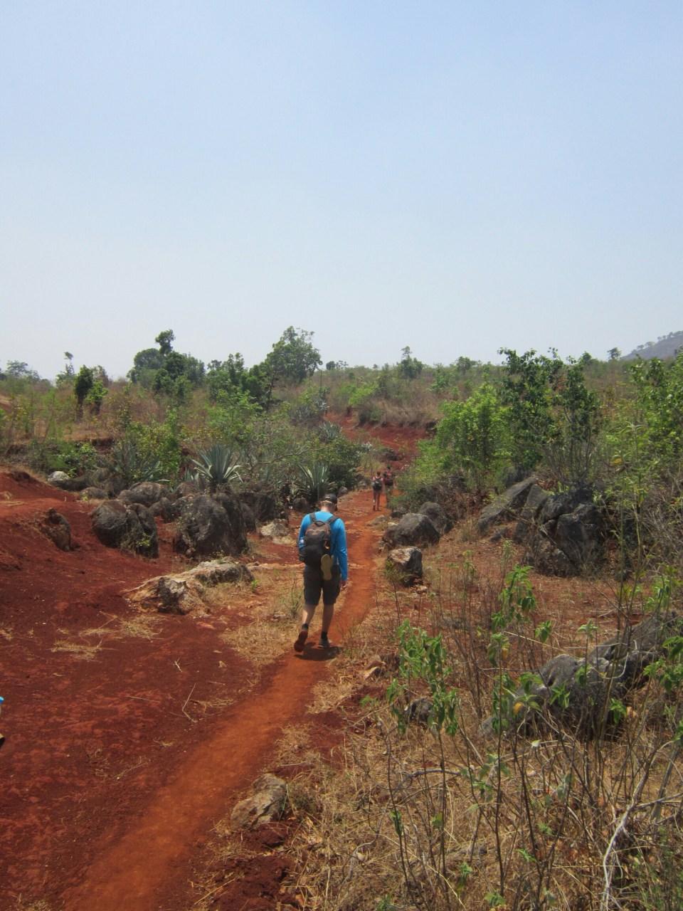Trekking between Kalaw and Inle Lake, Myanmar