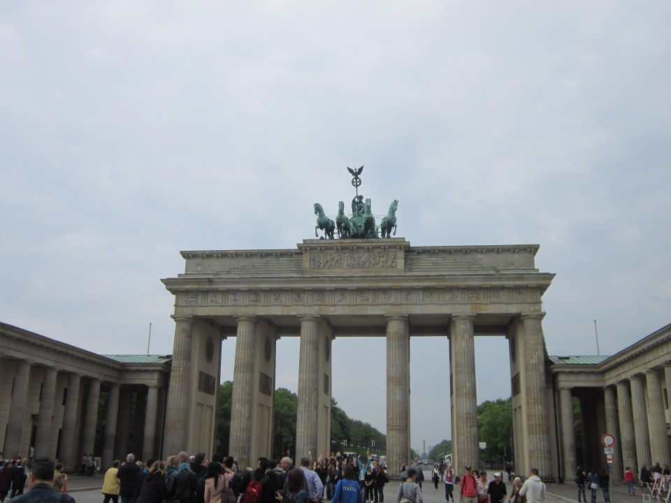 things to do in Berlin - The Brandenburg Gate