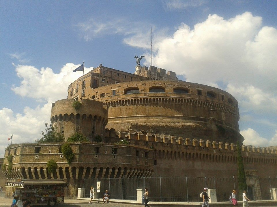 things to do in Rome castel santangelo