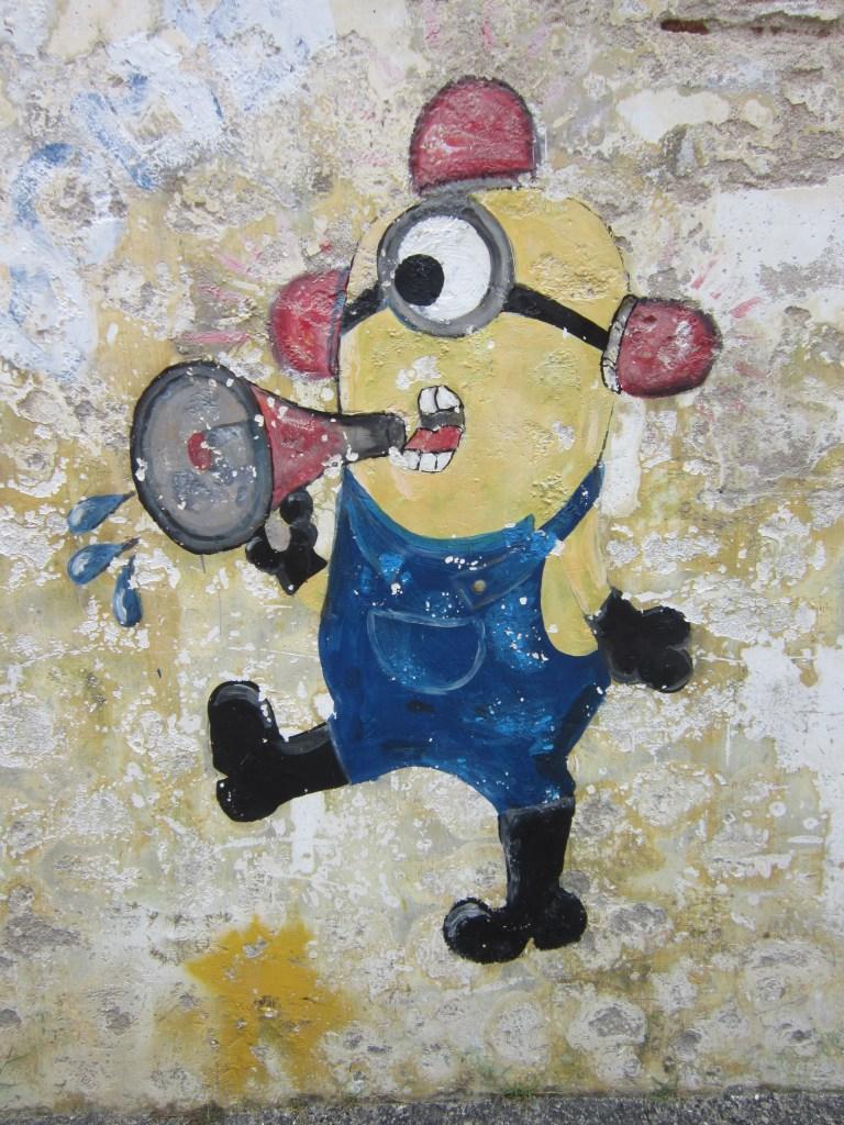 Penang Street Art Minions