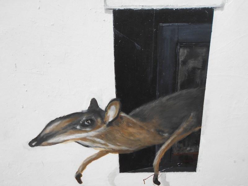 Melaka Street Art Rat