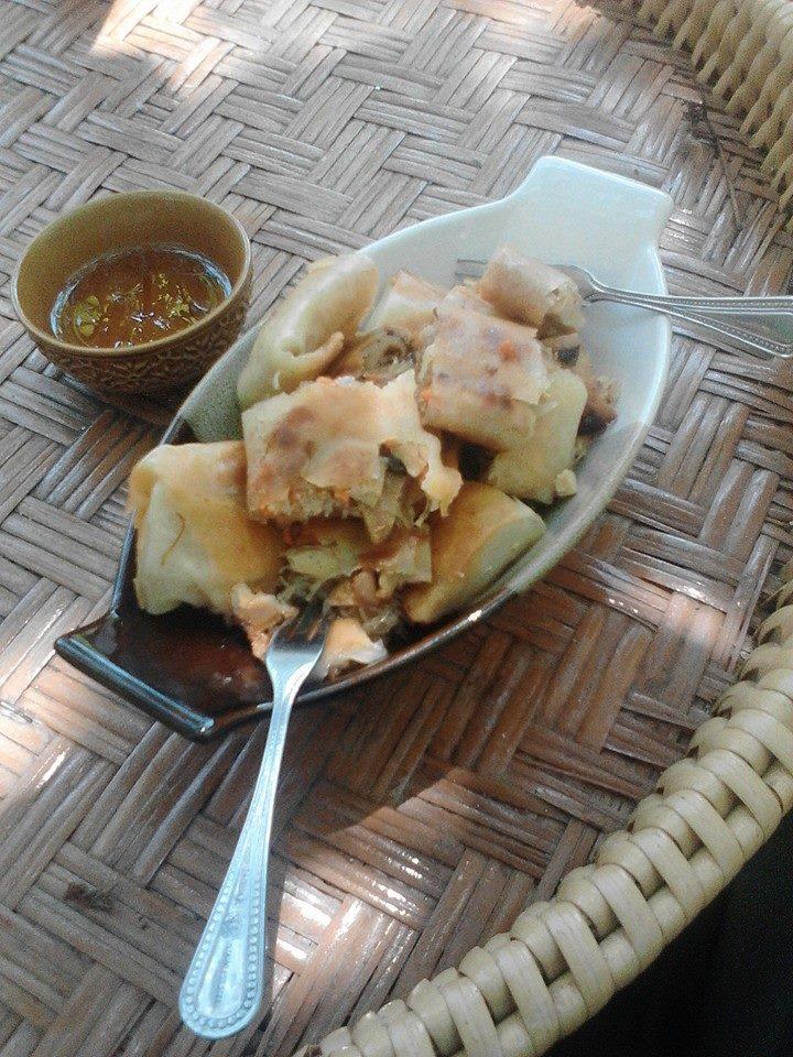 Thailand Vegetarian Spring Rolls (Vegetarian food in Thailand)