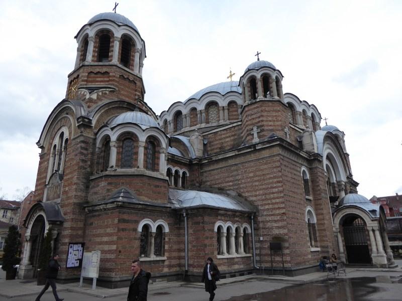 Vie wof Sveti Sedmochislenitsi Church in Sofia