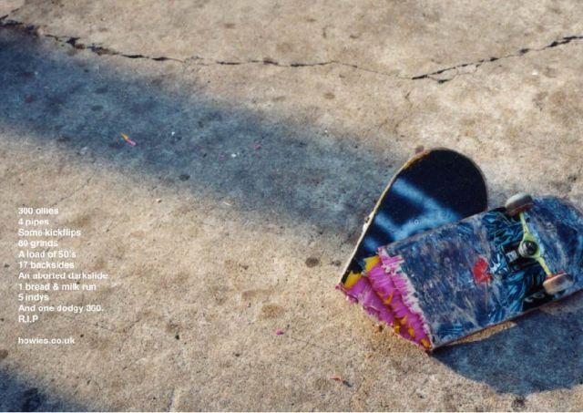 howies, skate - 300 ollies pg