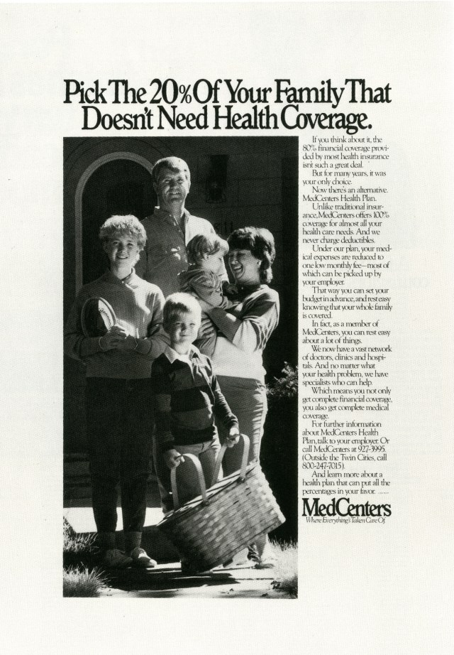 Fallon McElligott, MedCentres 'Which 20%' -01