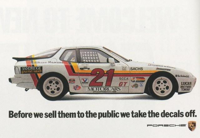 Fallon McElligott, Porsche 'Decals'-01