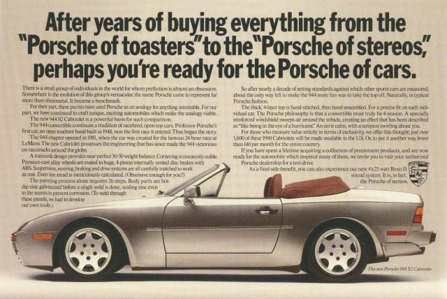 Fallon McElligott, Porsche 'Porsches'-01