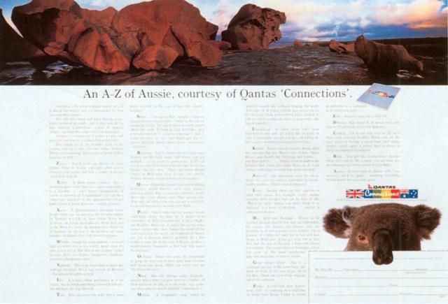 John Knight, Qantas %22A-Z'