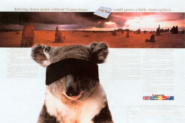 John Knight, Qantas 'Blindfold'