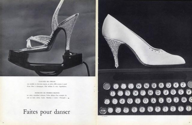 Capobianco-shoes-laure-shoes, Guy Bourdain, 1956