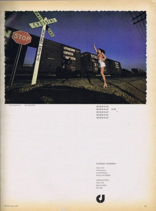 'Train Wave' Charles Jourdan, Guy Bourdain