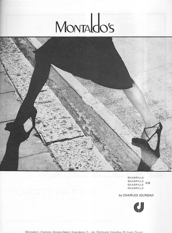 'Step' Charles Jourdan, Guy Bourdain, Vogue-Oct-1976