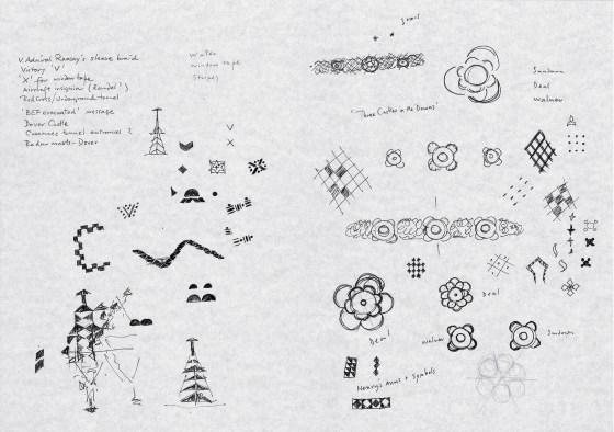 English Heritage 'Wakefield Doodles'-01