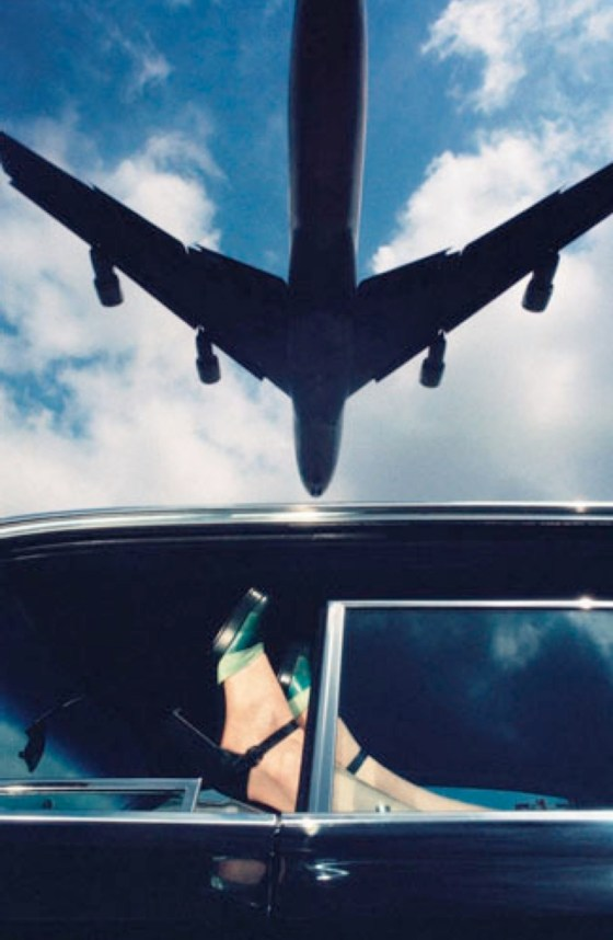 'Plane' Charles Jourdan, Guy Bourdain, Spring 1971
