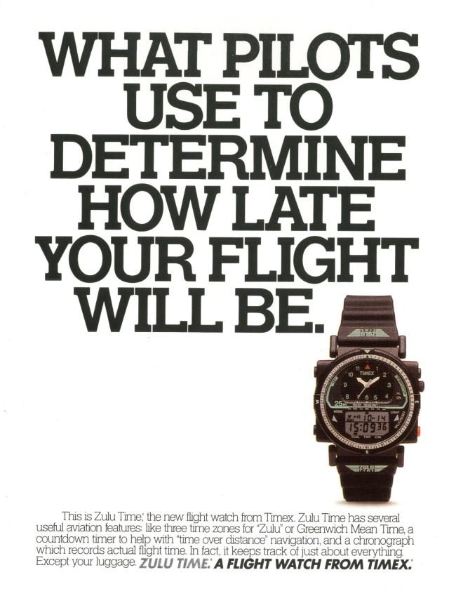 Fallon McElligott, Timex, 'Late'-01