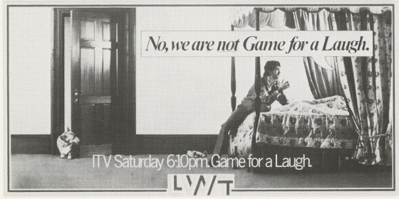 LWT 40. 'Are We Not Game For A ...'-01