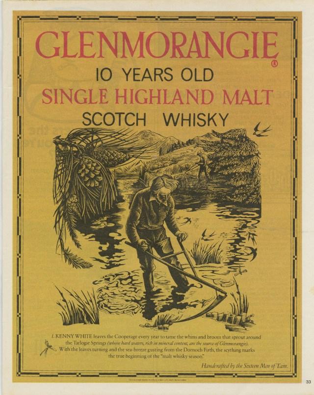 Glenmorangie - Sythe, HKR:Reddy