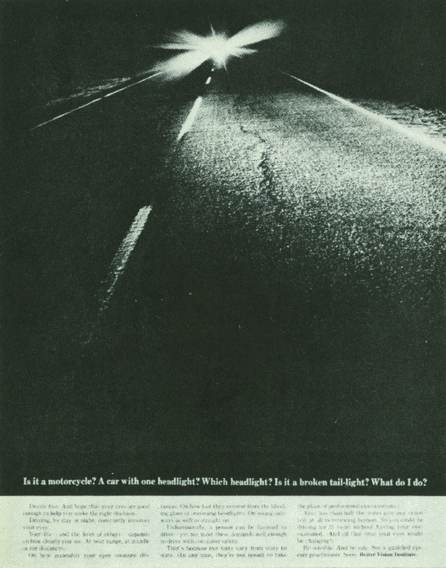 Better Vision Institute 'Car Lights' Len Sirowitz, DDB-01