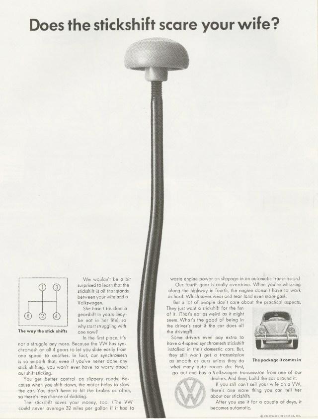 VW 'Stickshift' Len Sirowitz, DDB-01