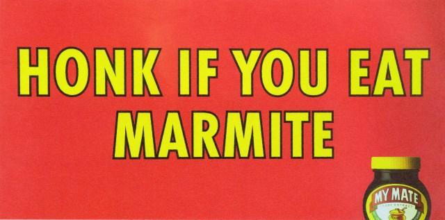 Andy McCleod, Marmite 'Honk if' 48, BMP:DDB.