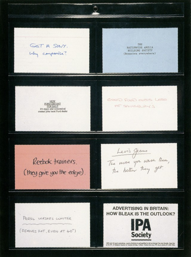 Andy McLeod, IPA 'Cards', BDDH-01