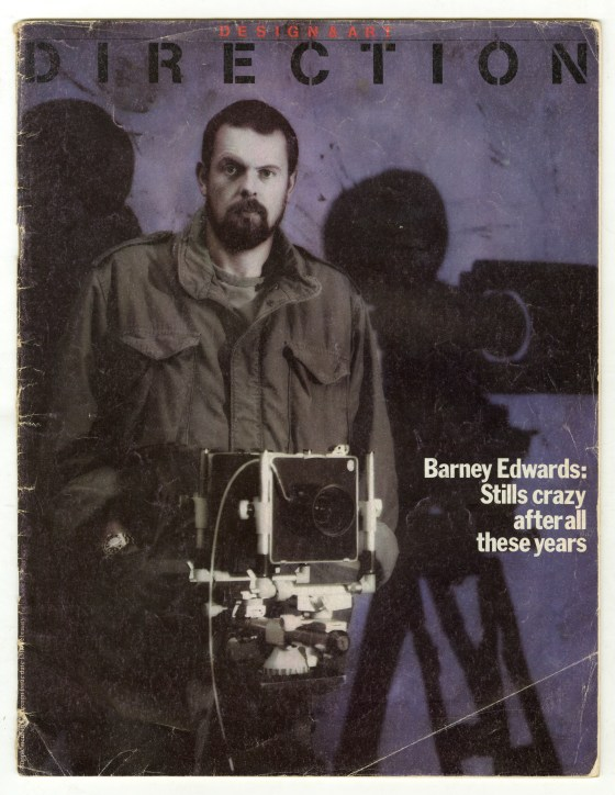 Barney Edwards, Direction front cover-01