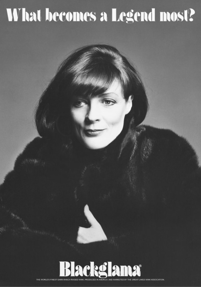 Blackgamma ad - 1980 maggie smith