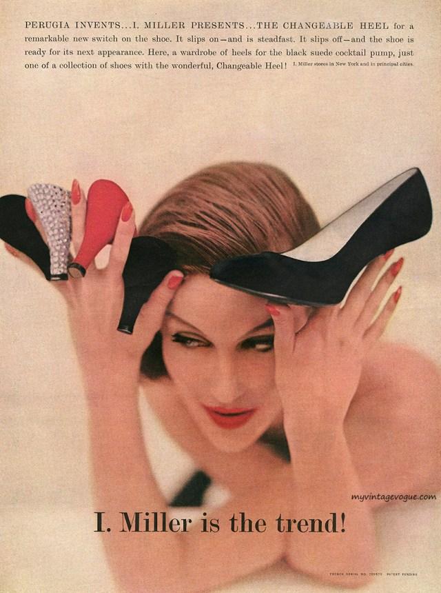Jane Trahey, I. Miller, 'Heels'