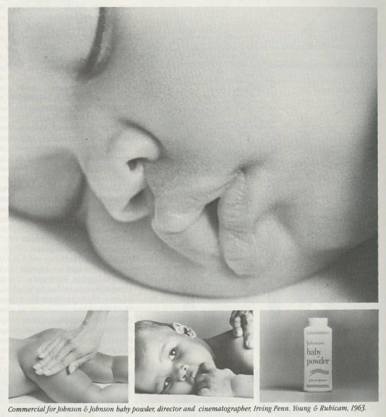 Steve Frankfurt, J&J Baby Powder 'Baby' Irving Penn-01