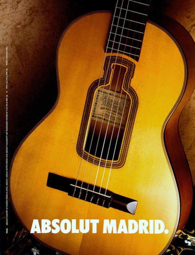 Graham Ford, Absolut 'Madrid