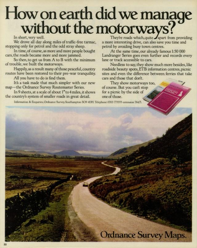 Max Forsythe, Ordnance Survey 'Motorways', FCO-01