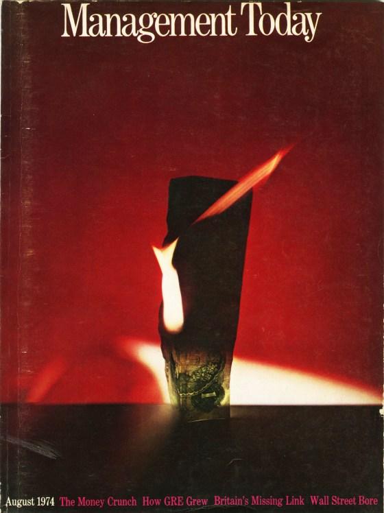 Lester Bookbinder, Management Today 'Burning £'**-01