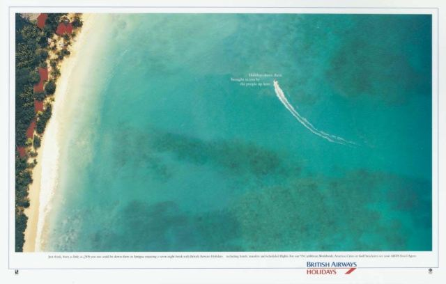 'Beach' British Airways, Mark Reddy, Max Forsythe, Saatchi