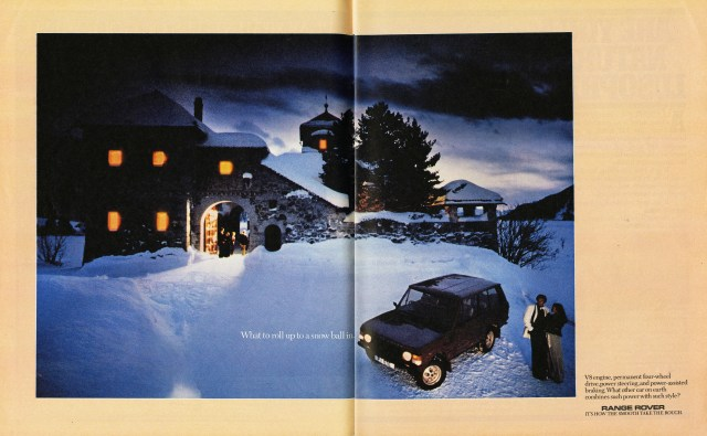 Mike Cozens, Range Rover 'Snowball', TBWA-01