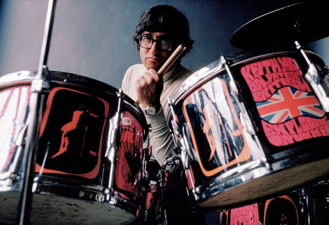 Art Kane 'At Keith Moon's Drums'