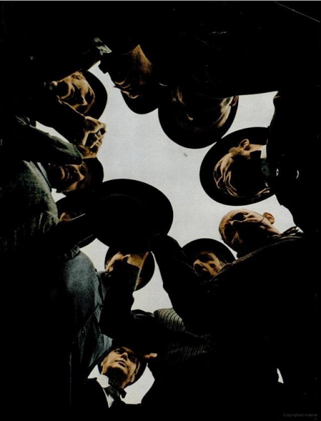 Art Kane 'Mobsters'