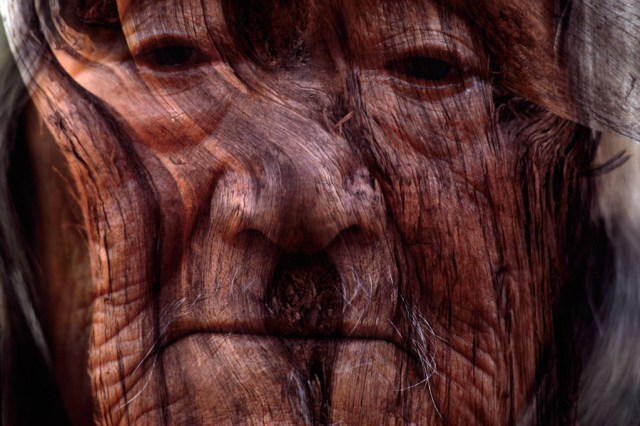 Art Kane 'Old Lady.:Wood Sandwich'