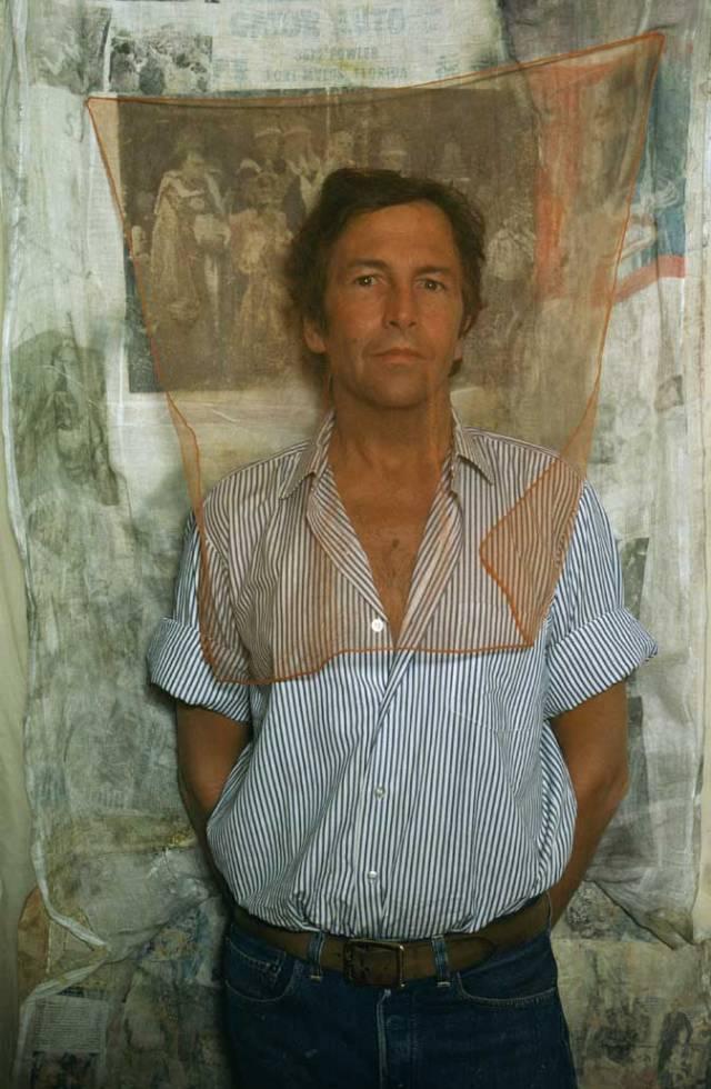 Art Kane 'Robert Rauschenberg 1974'