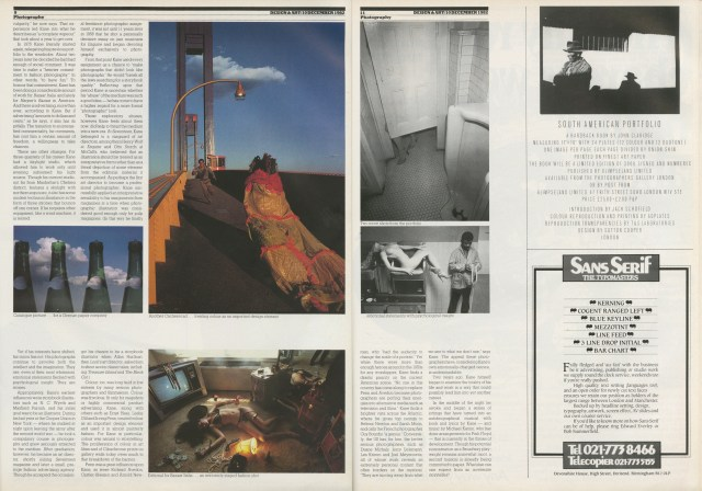 Art Kane - Direction Article - 1982 (b)