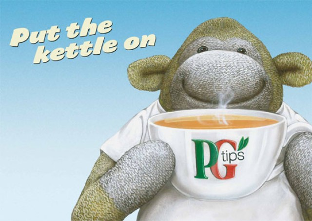 PG tips - Illustration:Bob Venables