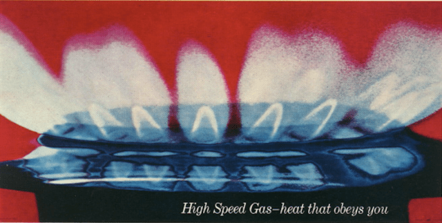 British Gas 'Flame', David Holmes, KMP