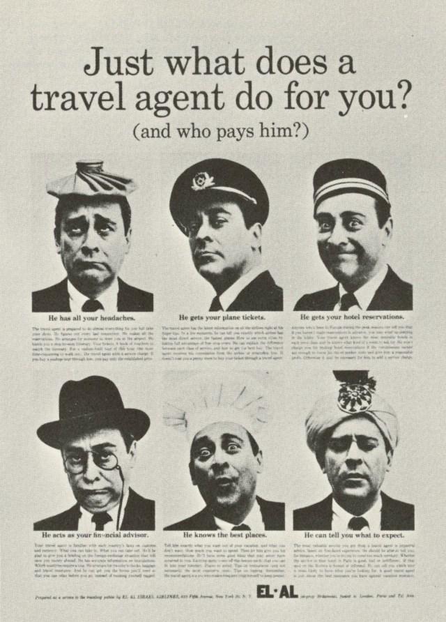 El Al 'Travel Agent', Sid Myers, DDB NY-01