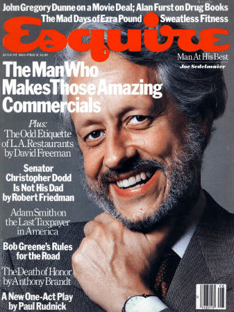 Joe Sedelmaier, Esquire Cover, 1983