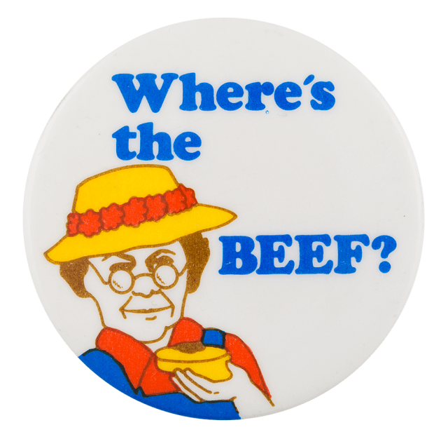 Joe Sedelmaier 'Where's The Beef' 17