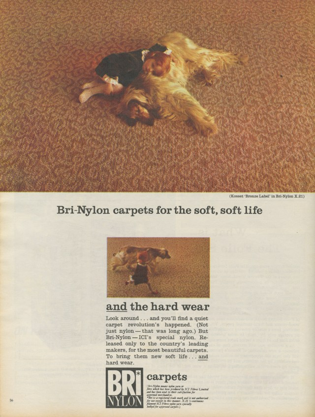 Bri Nylon Carpets 'Dog', KMP-01