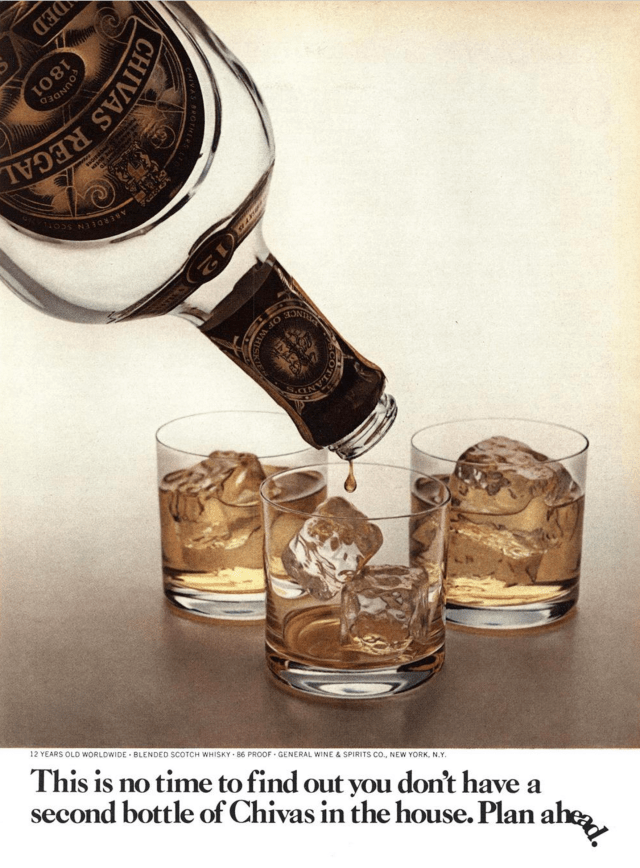 11. 'This Is No Time',   Chivas Regal, DDB NY (Esquire).png