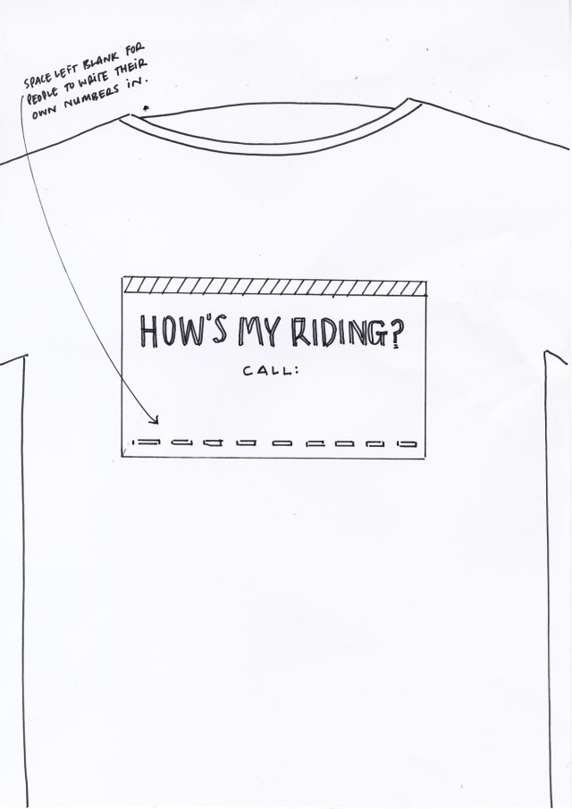 3. 'How's My Riding' Howies T-Shirt, DHM.jpg