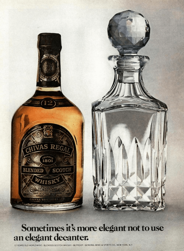 4. 'Sometimes it's more elegant',  Chivas Regal, DDB NY* (Esquire).png