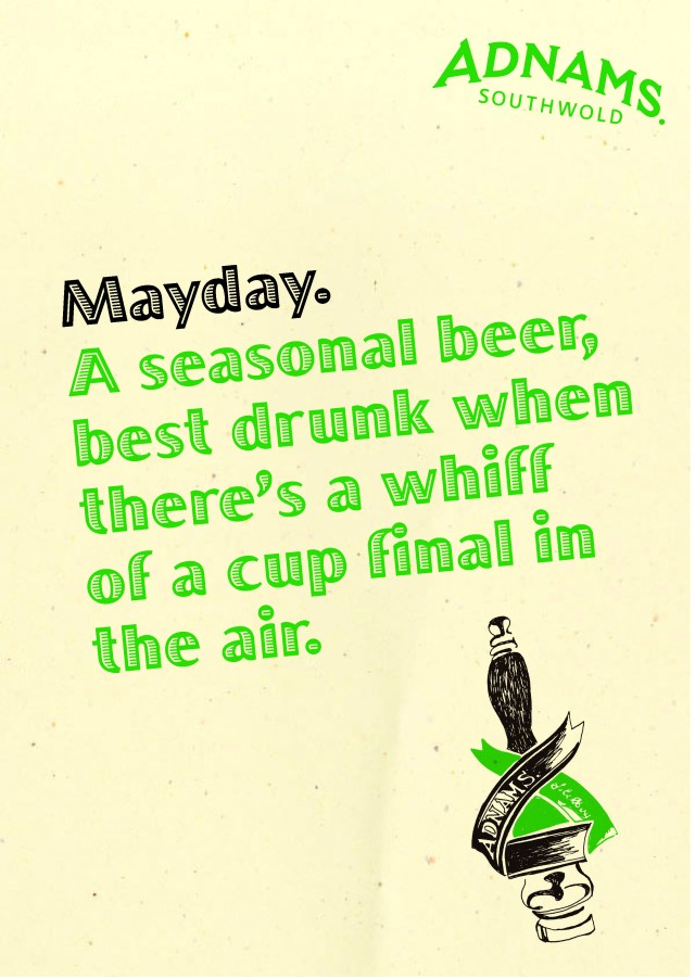'A Seasonal Beer' Mayday, Adnams.jpg